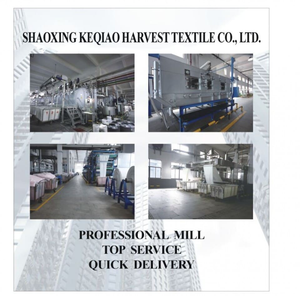 SHAOXING KEQIAO HARVEST TEXTILE CO., LTD.