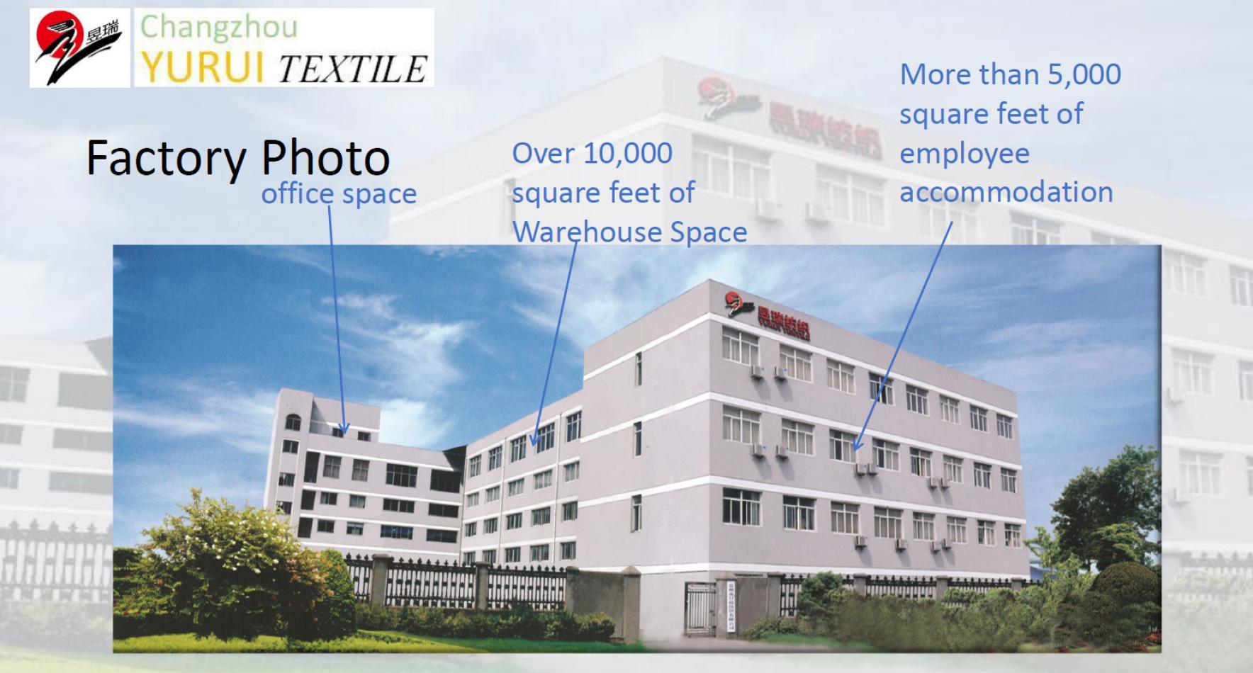 Changzhou Yurui Textile Co., Ltd.