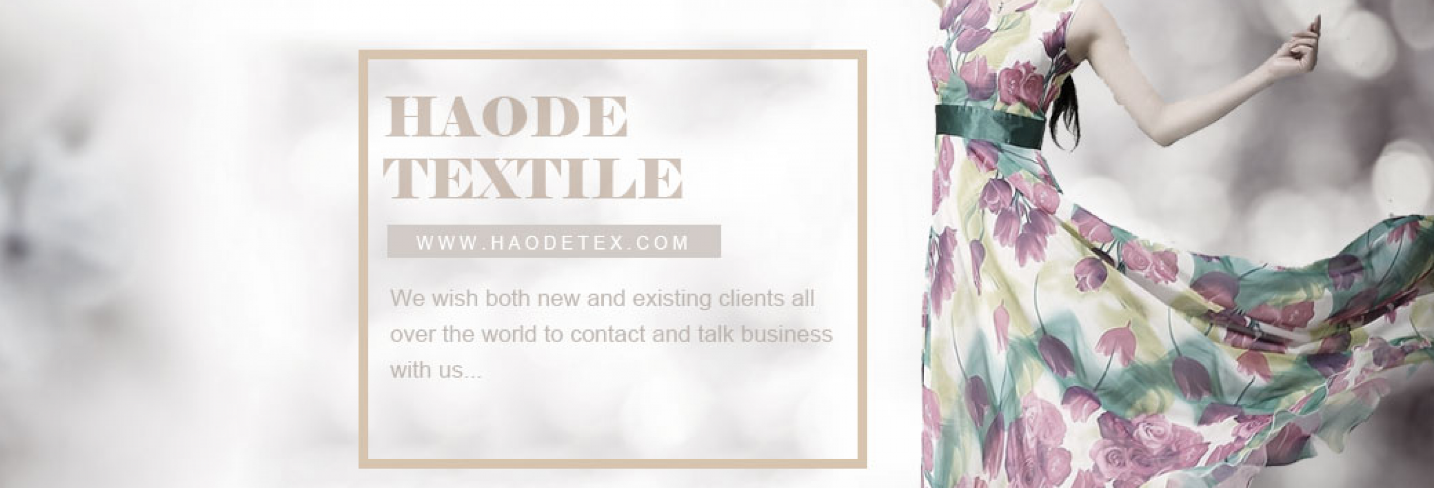 CHANGZHOU HAODE TEXTILES CO. LTD.