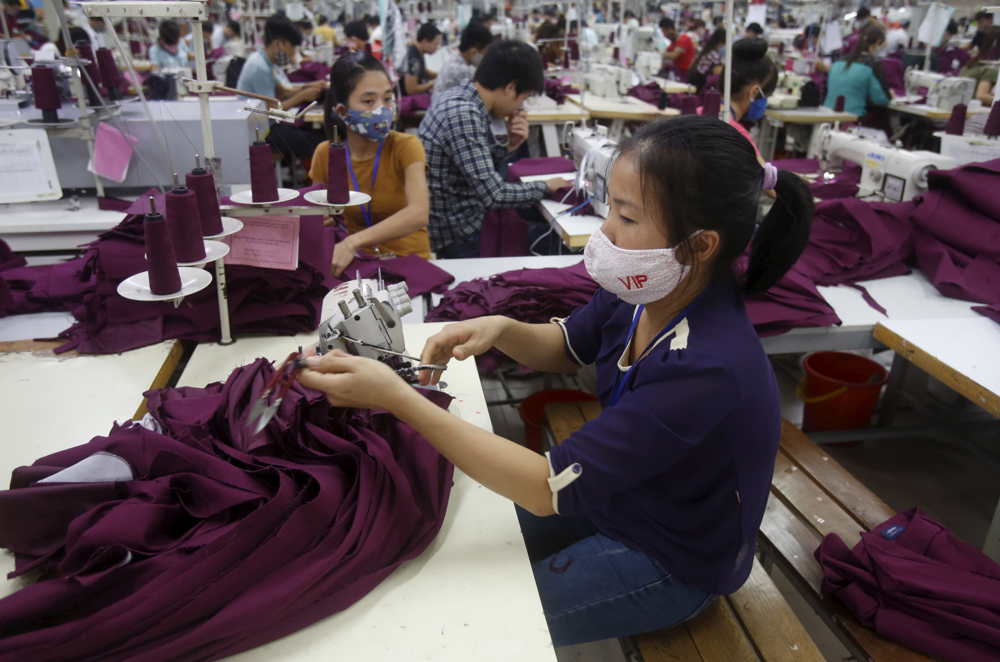 Production gradually being moved out of China by European Apparel Brands